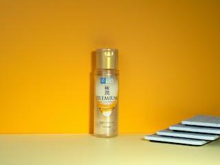 Revue: la lotion à l'acide hyaluronique Hada Labo Gokujyun Premium (version 2020)
